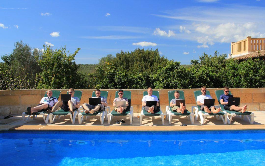 Mallorca Workation – selbst organisiert in Finca mit 500qm Wohnfläche