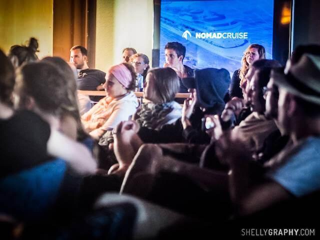 Workshop und Meetups auf der Nomad Cruise