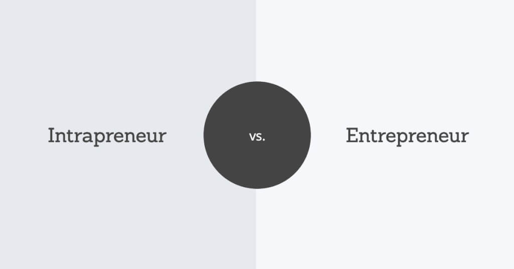 Intrapreneur vs entrepreneur moveyouroffice