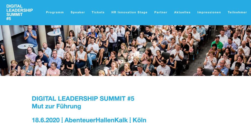 New Work Event Digital Leadership Summit 1