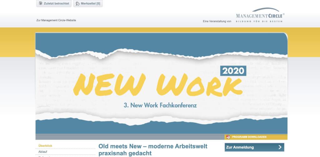 New Work Konferenz   Weiterbildung Management Circle 1