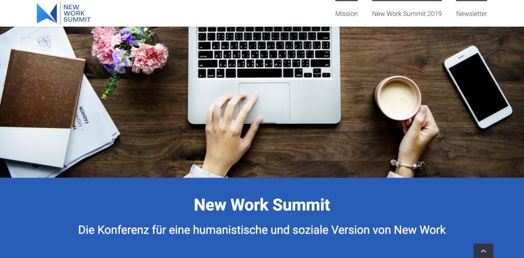 New Work Summit New Work Konferenz 1