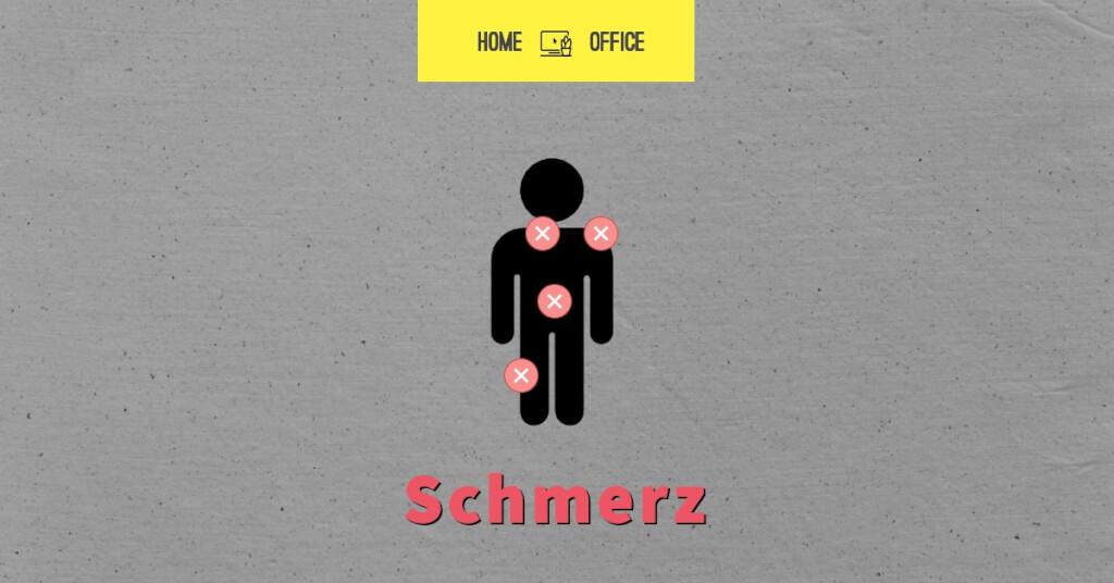 Schmerzen Probleme Home Office