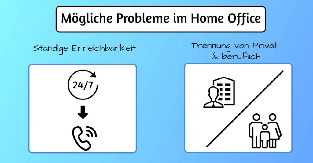 Moegliche Probleme im Home Office 2