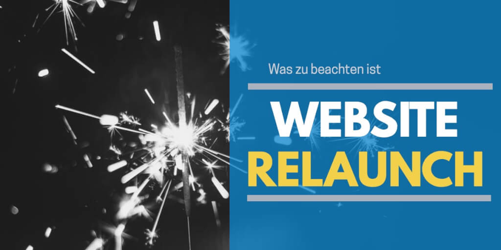 Wie ein Website Relaunch ablaufen sollte