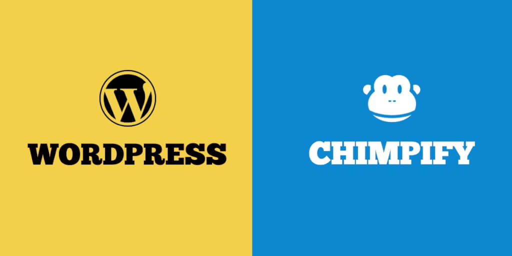 Wordpress vs Chimpify   Inboundly