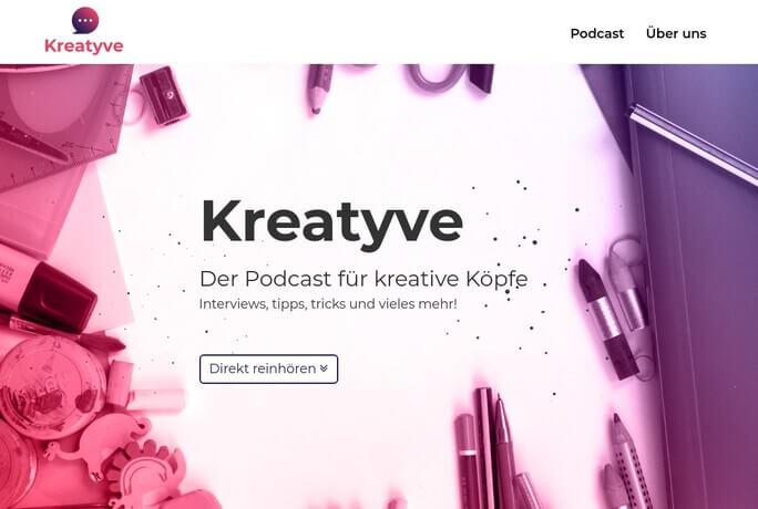 Kreatyve Theme Vorschau