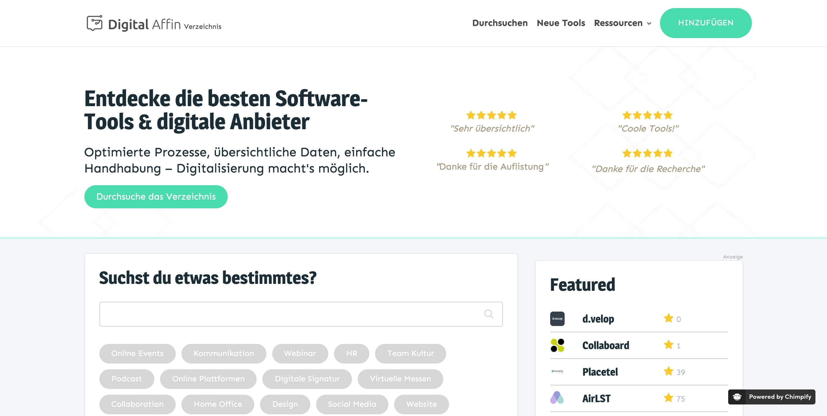 Digital Affin Verzeichnis Entdecke die beste Software 1
