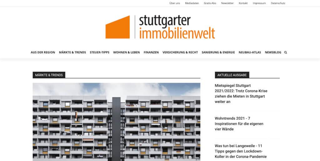 stuttgarter immobilienwelt Die Immobilienzeitung fuer Stuttgart 1