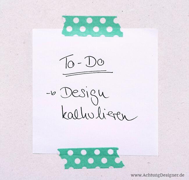 Design kalkulieren: So findest du den richtigen Preis für deine Leistungen