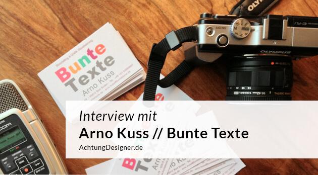 Von der Wertpapierbank zum eigenen Designbusiness – Arno Kuss im Interview