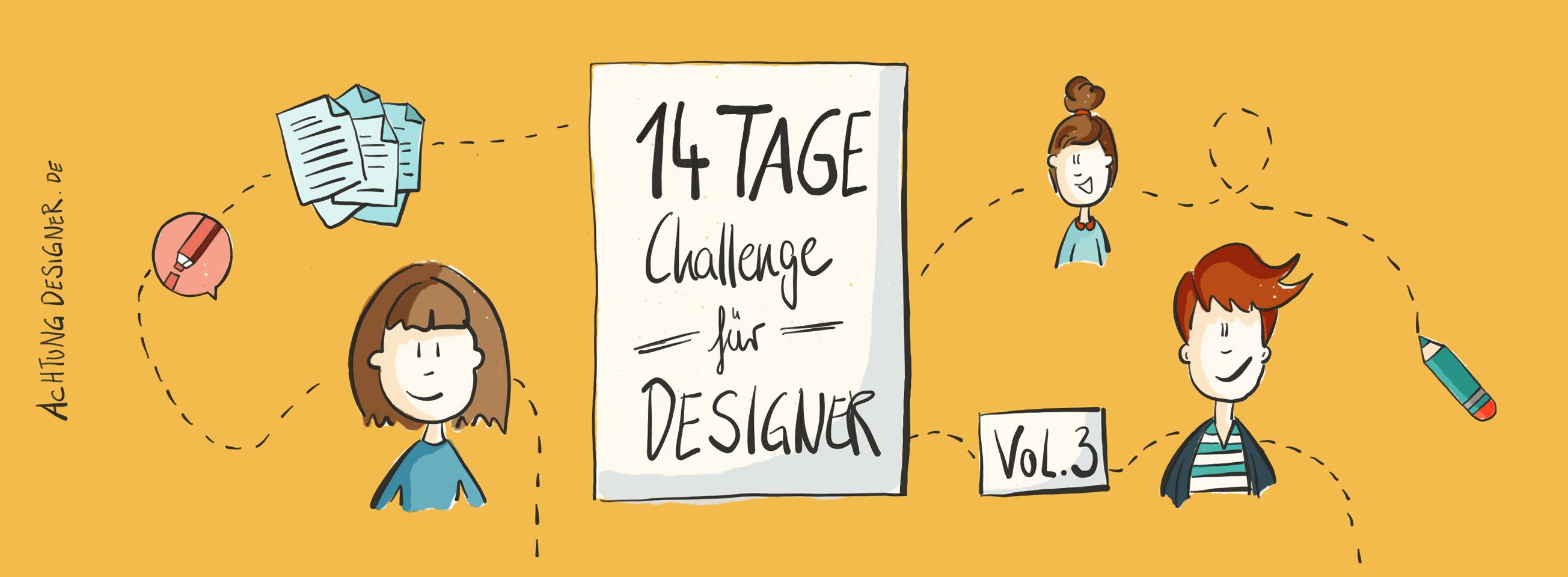 14-Tage-Challenge für Designer @Gudrun Wegener | Achtung Designer