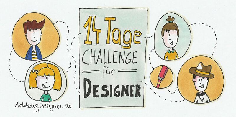 Illustration - 14 Tage Challenge für Designer