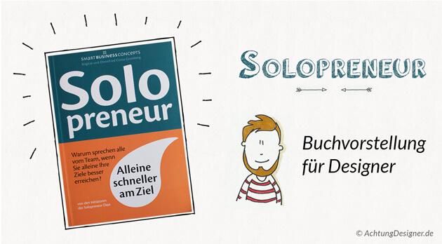 Solopreneur – Buchvorstellung für Designer