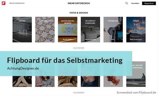 Flipboard für das Selbstmarketing  –mehr als ein Social News Magazin