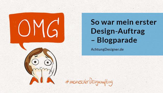 So war mein erster Design-Auftrag © Gudrun Wegener