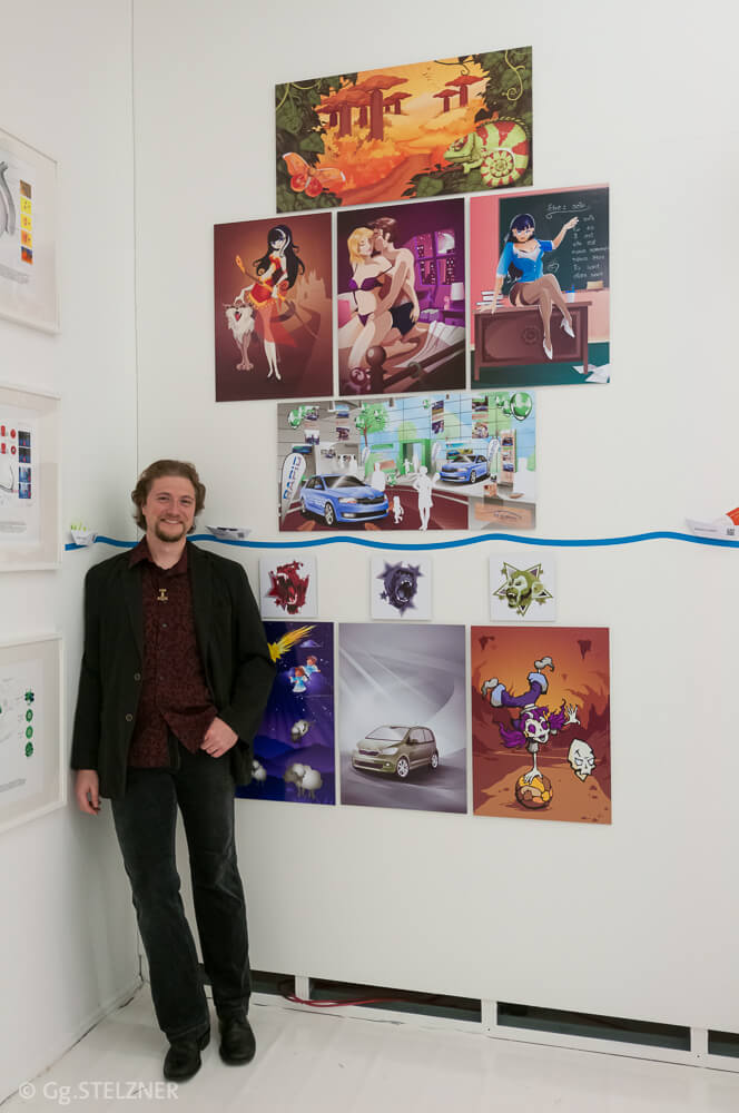 Ausstellung bei der Illustratoren Organisation 2012