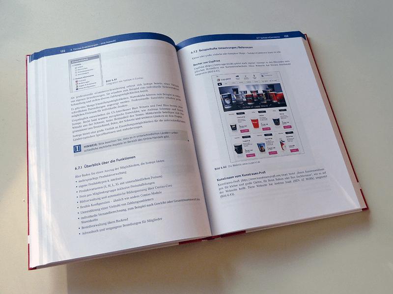 Contao für Webdesigner - Ein Blick ins Buch