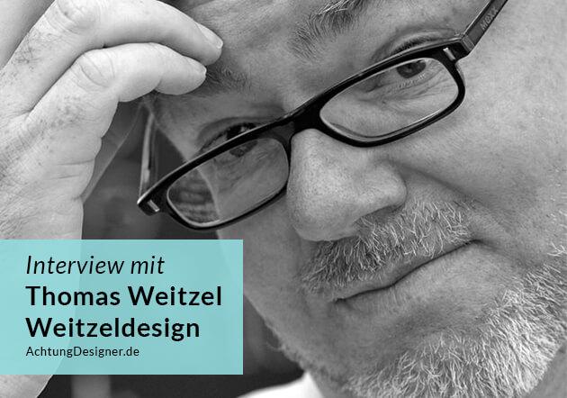 Interview mit dem Webdesigner Thomas Weitzel / © Achtung Designer