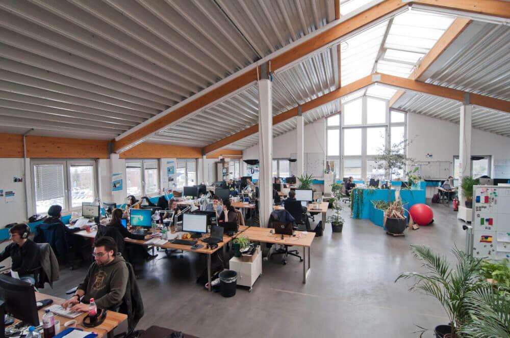 Ein Blick in das Jimdo-Office / Quelle: jimdo.com