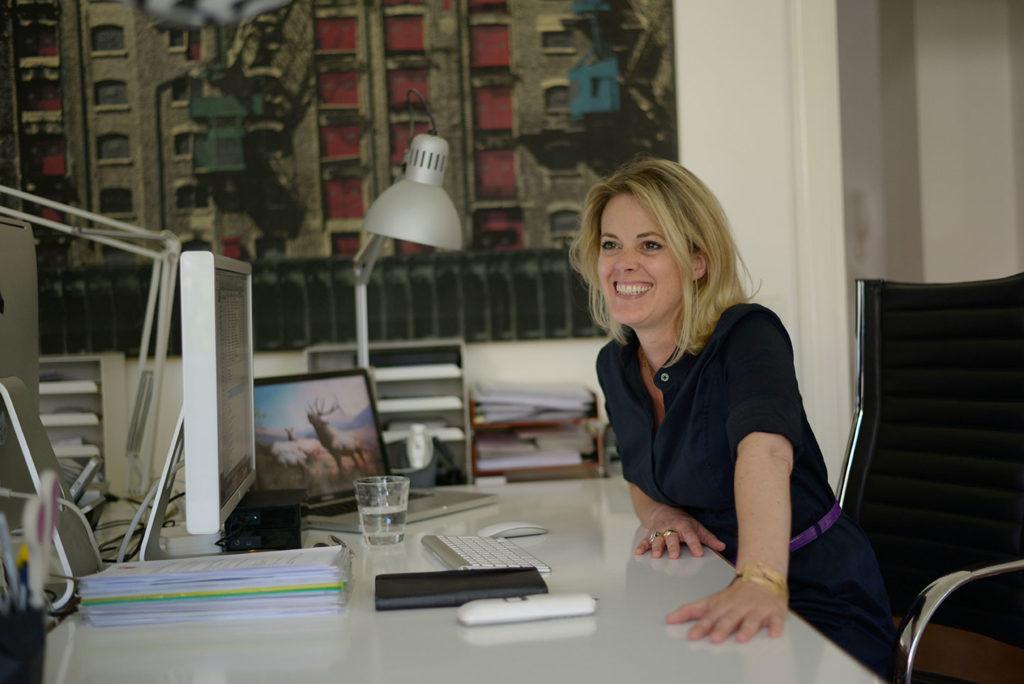 Im Büro von Saskia Schlarmann