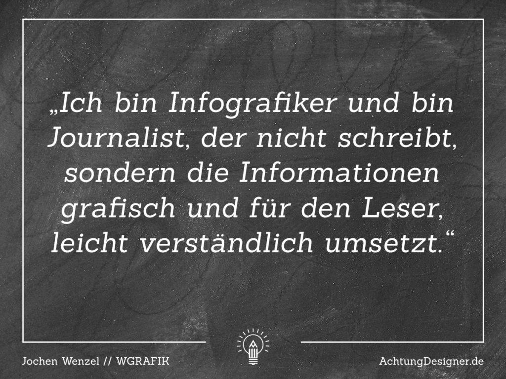 Interview – Zitat Jochen Wenzel auf Achtung Designer