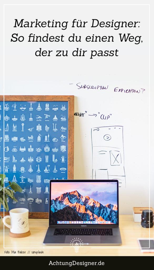 Marketing für Designer: So findest du deinen Weg // AchtungDesigner.de