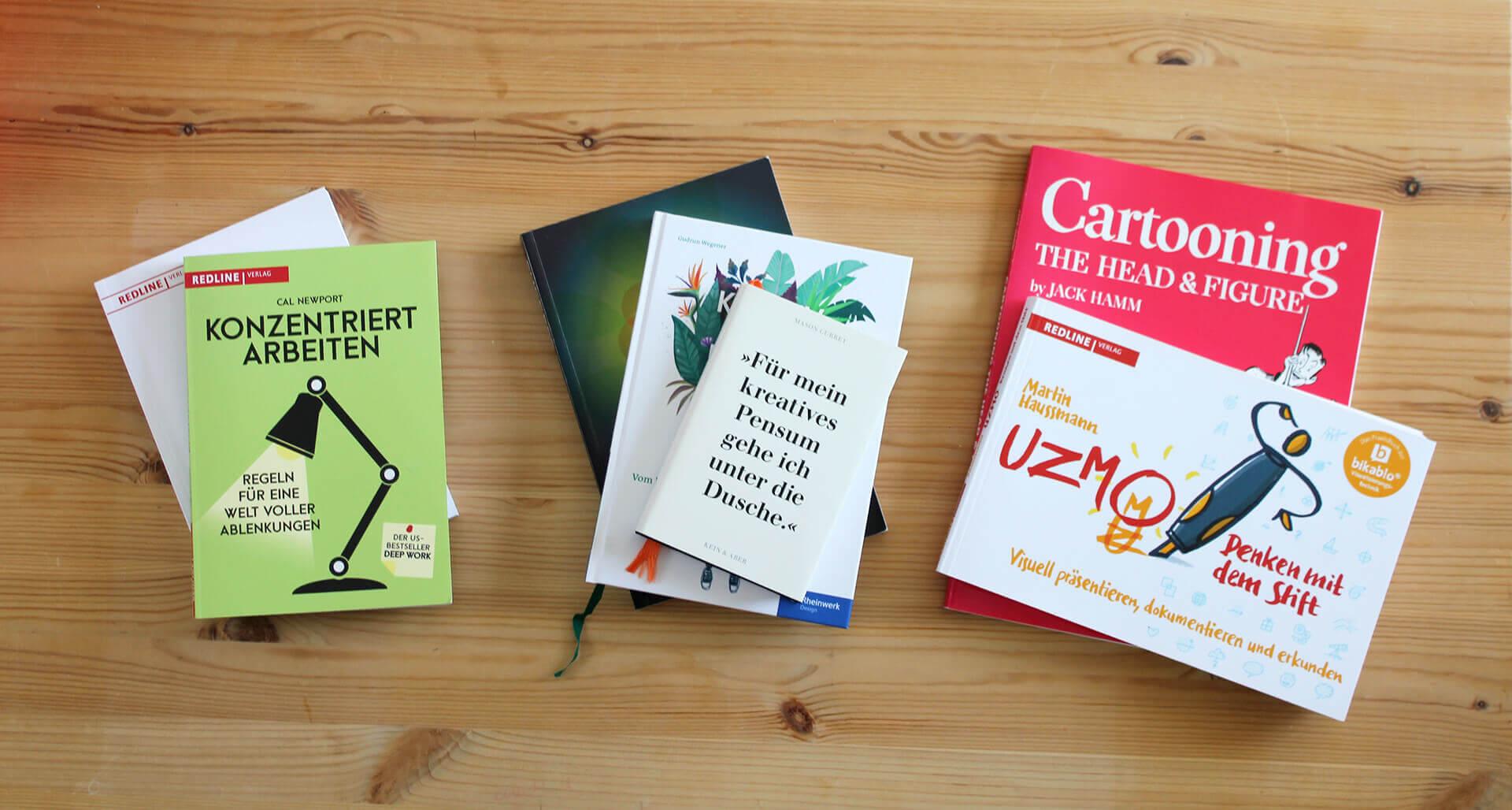 Bücher für Designer: 8 Tipps für deine Sommerlektüre