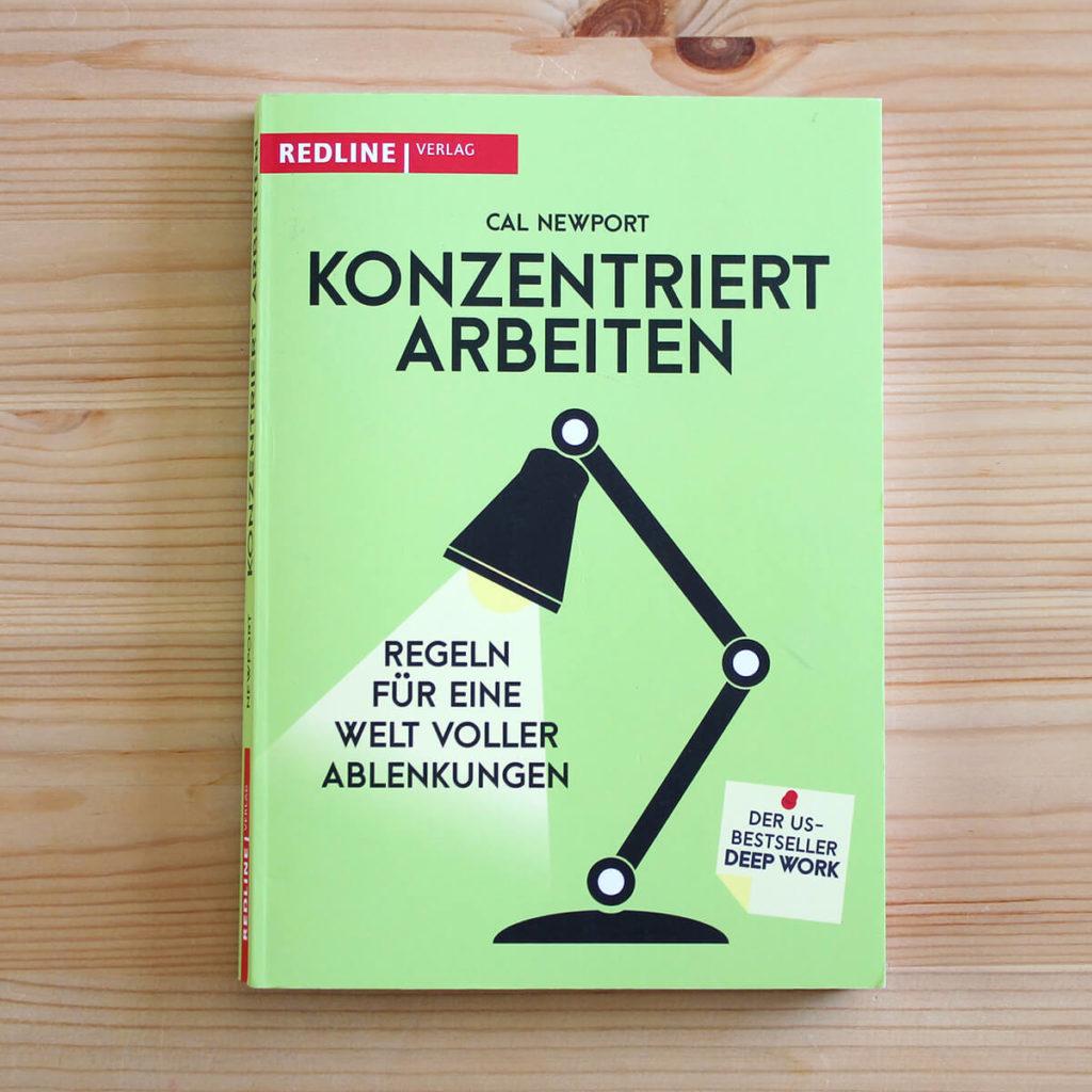 Bücher für Designer - Konzentriert arbeiten von Cal Newport