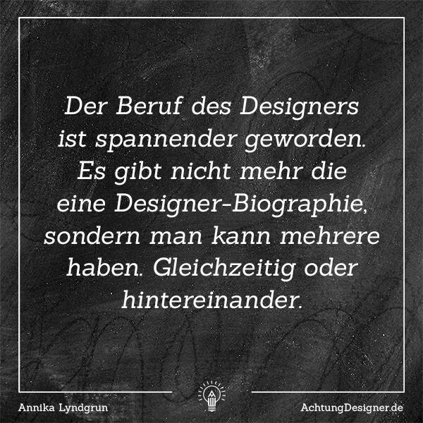 Warum es im Moment so wahnsinnig anstrengend und schön ist, als Designer erfolgreich zu sein.