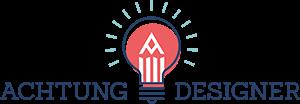Achtung Designer Logo