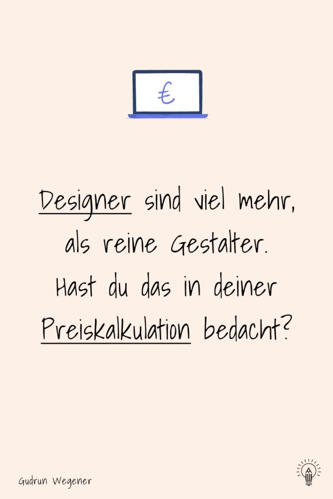 Illustration, Design kalkulieren: weißt du, was du alles in deine Preisfindung einbeziehen musst, Achtung Designer