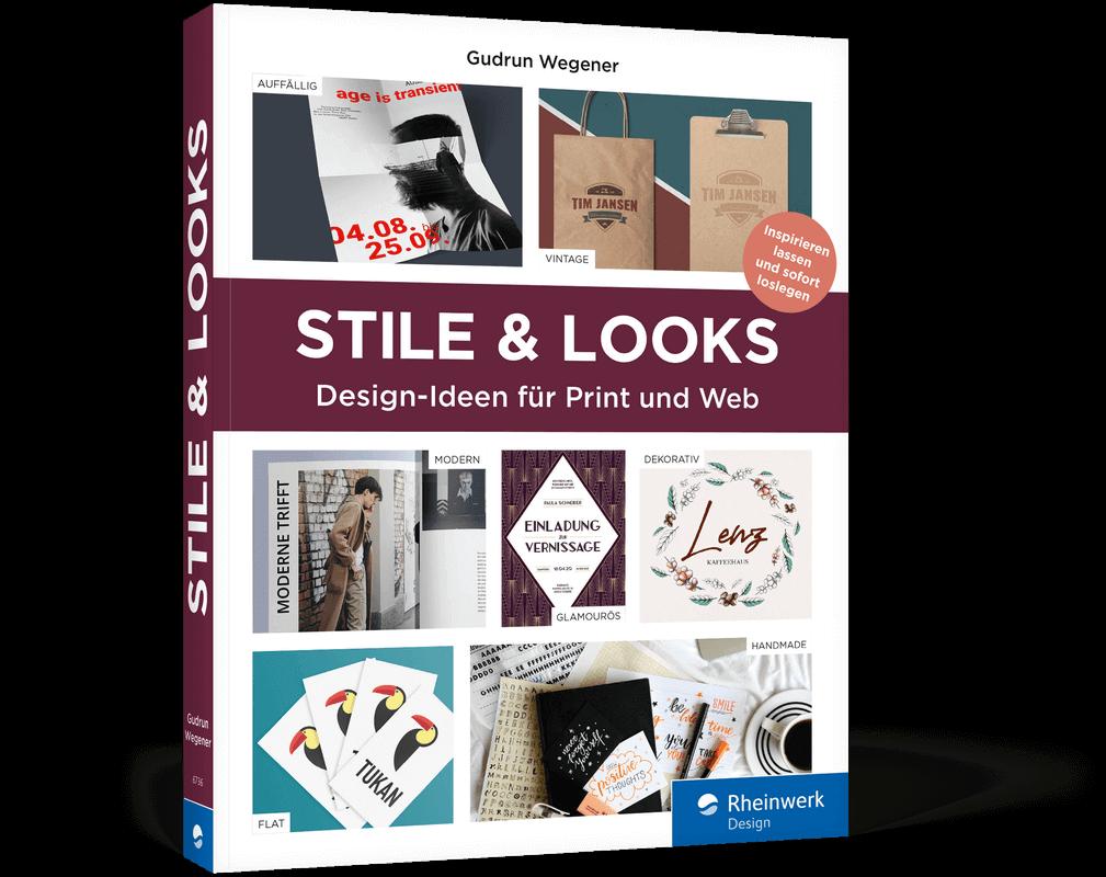 Stile & Looks von Gudrun Wegener –Bücher für Designer und Kreative