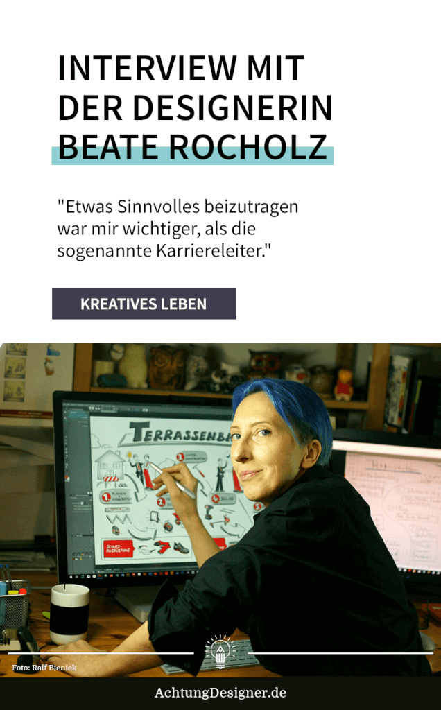 Interview mit der Designerin Beate Rocholz –