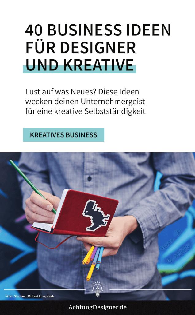 40 Business Ideen für Designer und Kreative