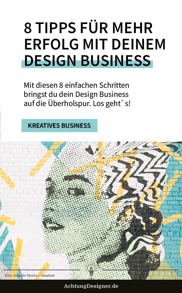 8 Tipps für mehr Erfolg mit deinem Design Business