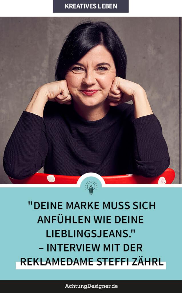 Interview Reklamedame Steffi Zährl hoch 2
