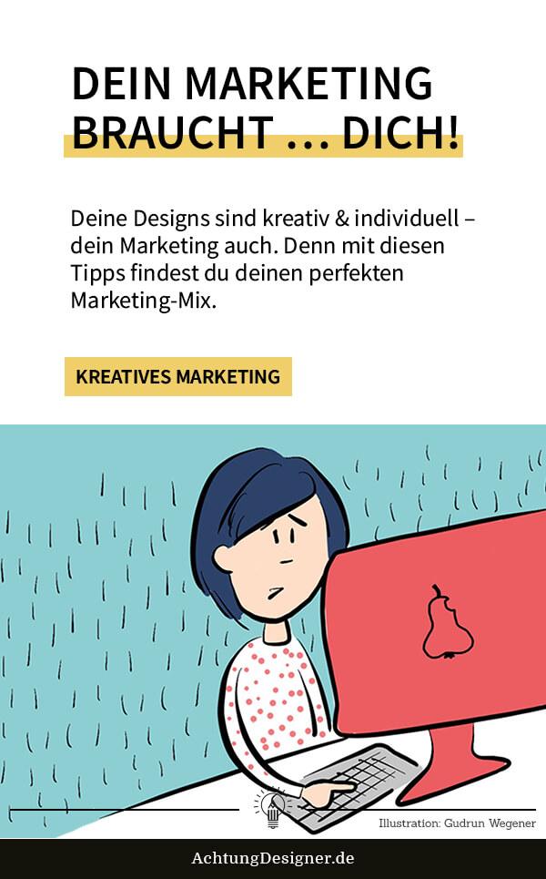 Dein Marketing braucht … DICH!