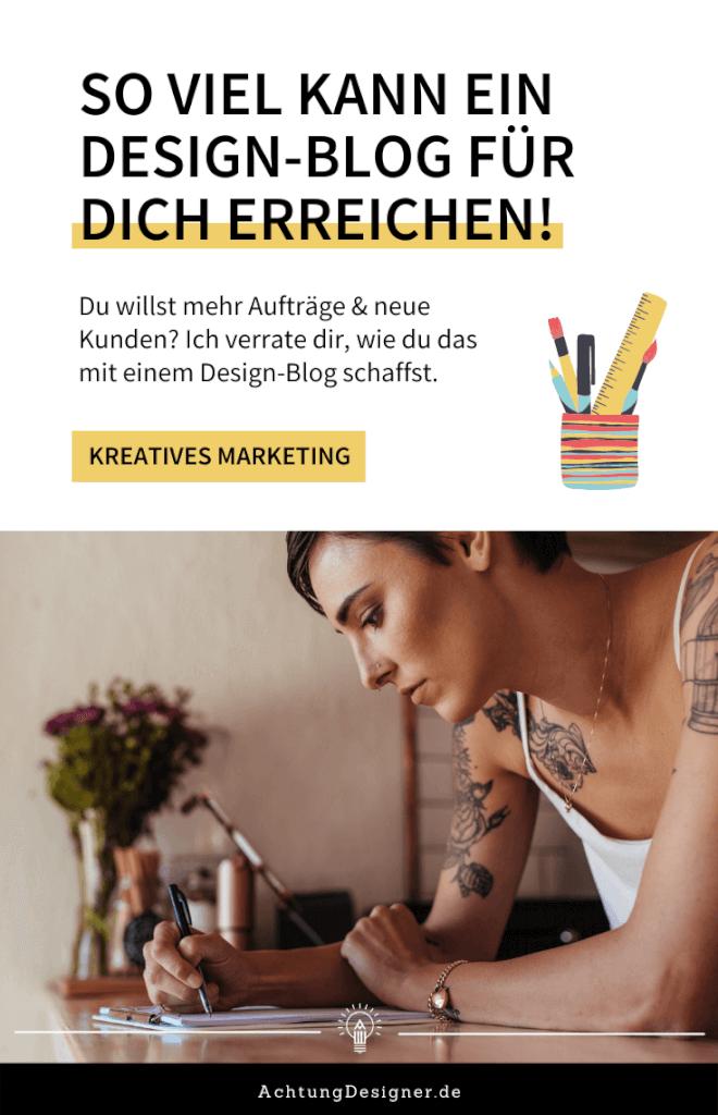 So viel kann ein Design-Blog für dich erreichen!