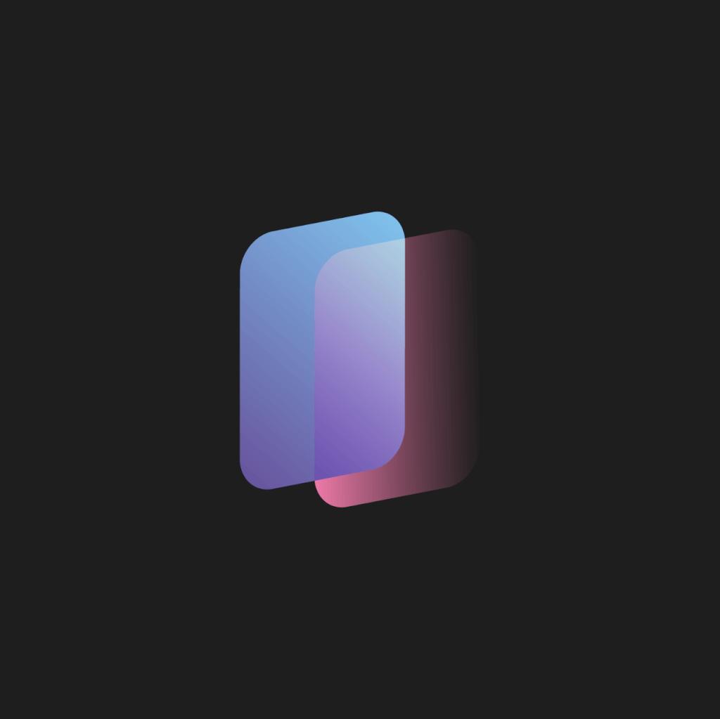 smartprocess.io Logo in Farbe vor dunklem Hintergrund