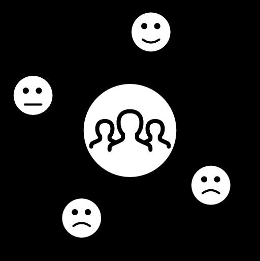 Icon, wie es ohne die Digitale Kundenbeziehung aussieht