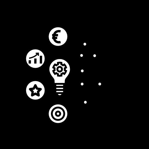 Icon Konzept der Digitalen Kundenbeziehung