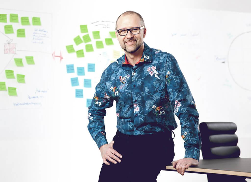 Helmut Niessl begleitet Sie auf dem Weg zum idealen Kunden
