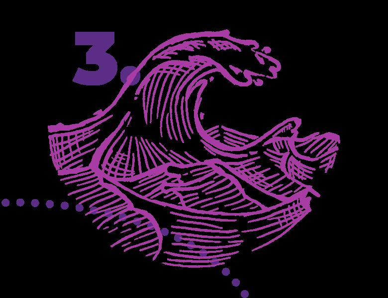 Große Wellen