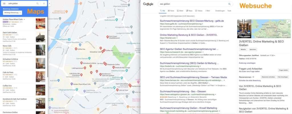 Google My Business Suche Kopie
