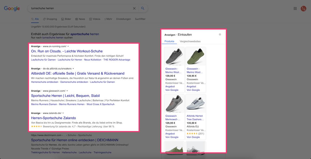 suchmaschinenwerbung google