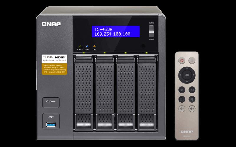 QNAP Firmeware Aktualisierung QTS 4.3.4.0551