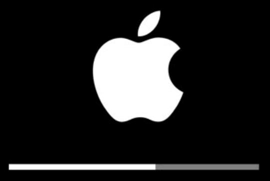 Ladebalken von Apple iOS