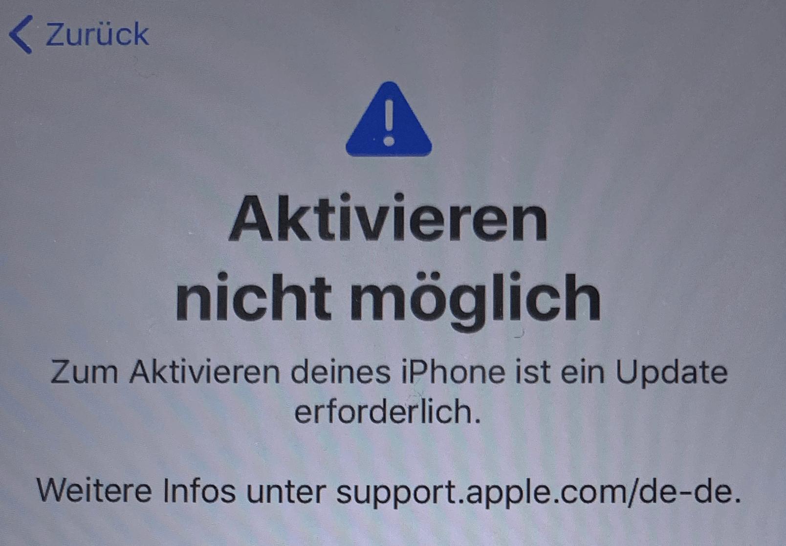 defektes iPhone XR