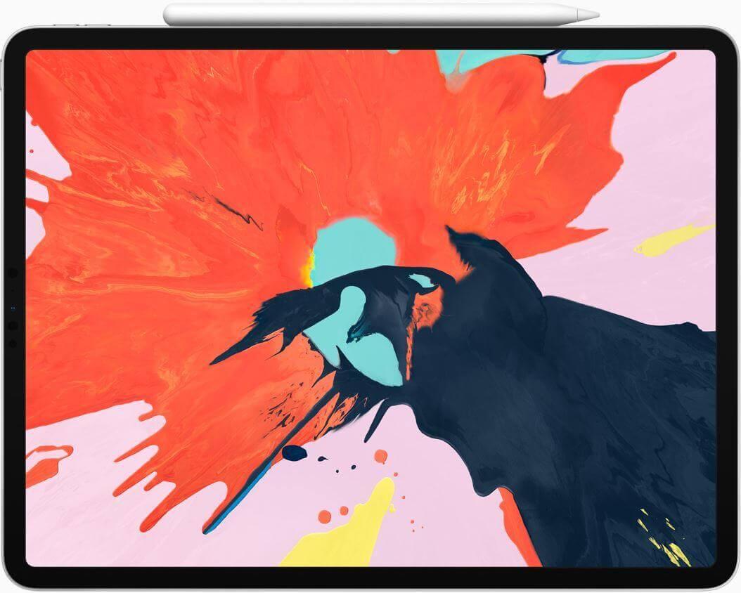 """Curved"" iPad Pro 2018"
